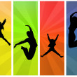 Jumping — Stock Photo