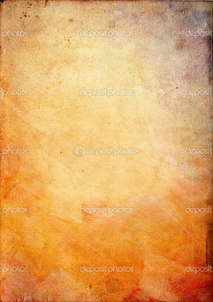 Grunge background with space for text or image in orange color tone — Stock Photo #2390412