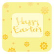 Happy Easter illustration — Foto Stock