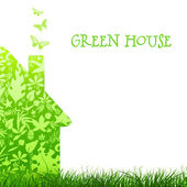 Green house — Stock Photo