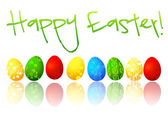 Happy Easter illustration — Stock Photo