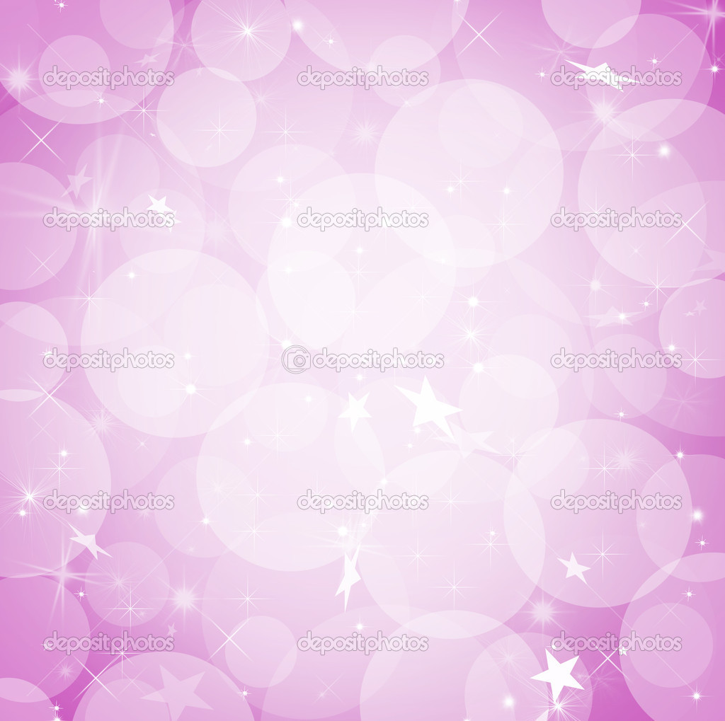 Bokeh illustrationwith stars for background with space for text — Stock Photo #2614050