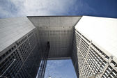 La Grande Arche in La Defense — Stock Photo