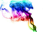 Abstract colored smoke — Stock Photo
