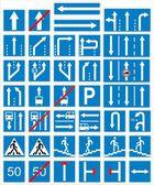 Indicazioni sul traffico — Vettoriale Stock