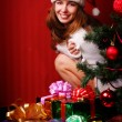Santa girl — Stock Photo #2098414