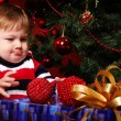 Boy with gifts — Stock Photo #2099159
