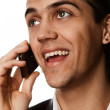 Businessman talking on phone — Stock Photo #2114537