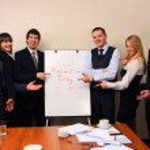 grupa biznesowa — Zdjęcie stockowe