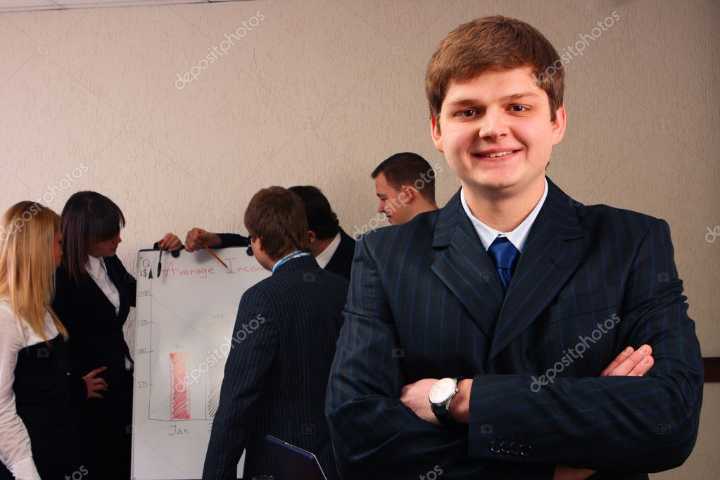 A business leader — Stock Photo #2116725