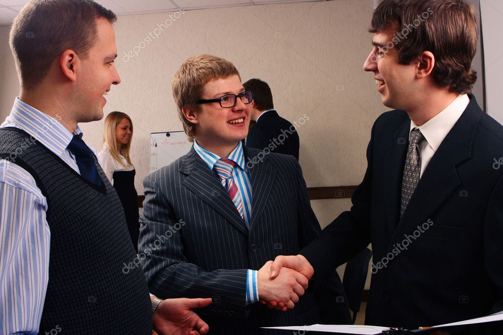 Business handshake  Stock Photo #2116833
