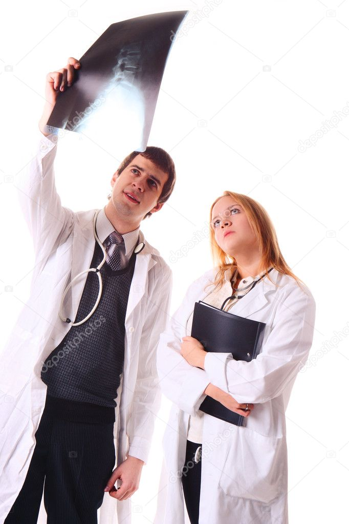 Doctor's discussion — Stock Photo #2136252