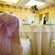 Wedding guest table — Stok fotoğraf