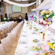 Wedding guest table - Foto Stock