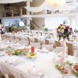 Stockfoto: Wedding guest table