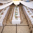 Wedding guest table — Foto de Stock