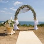 婚礼来宾表 — 图库照片
