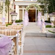 Stock Photo: Wedding guest table