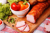 Large group of foods — Stock Photo