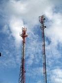 Mobile communication aerials — Stock Photo