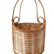 Stock Photo: Small basket from rod