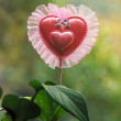 Heart style object - Stock Photo