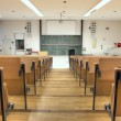 Rows in a lecture room - Stock Photo