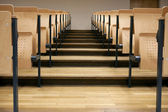 Rows in a lecture room — Stock Photo