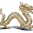 Golden dragon — 图库照片