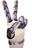 Robot hands — Stock Photo