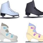 Ice skates — Stock Photo