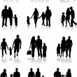 Family Togetherness Vector — Image vectorielle