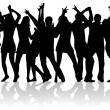 Party Crowd Design - Imagen vectorial