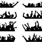 Duw je handen omhoog 2 — Stockvector