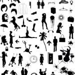 collection Big - éléments de design vectoriel — Vecteur