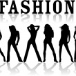 Vector de stock : Fashion