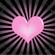 Beautiful Heart — Imagen vectorial