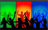 Танцы — Cтоковый вектор
