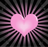Beautiful Heart — Stock Vector