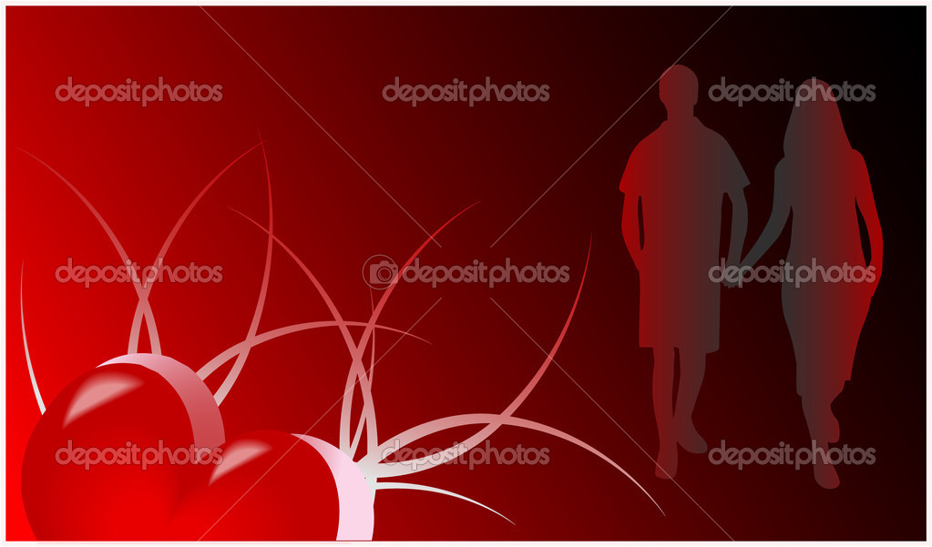 Romance Card  Stock Vector #2069003