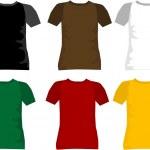 T-shirt for men vector — Stock Vector