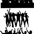 Royalty-Free Stock Vector Image: Dancing group 2