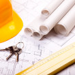 Construcion Area, Home planing — Stock Photo