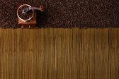 Coffee Grinder backround — Stock Photo