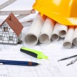 Stock Photo: Home planing