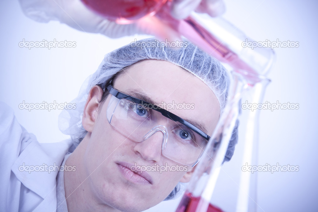 Scientist witch equipment  Stock Photo #2063356