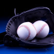 Постер, плакат: Baseball Balls and Glove