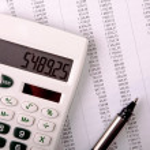 Bank Account Report — Stock Photo