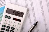 Bankrekening verslag — Stockfoto