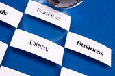 Strategy in Business — Stock Photo